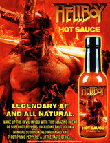 Hellfire Hellboy Legendary AF Hot Sauce, 5oz.