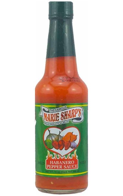Marie Sharp's Mild Habanero Hot Sauce, 10oz.