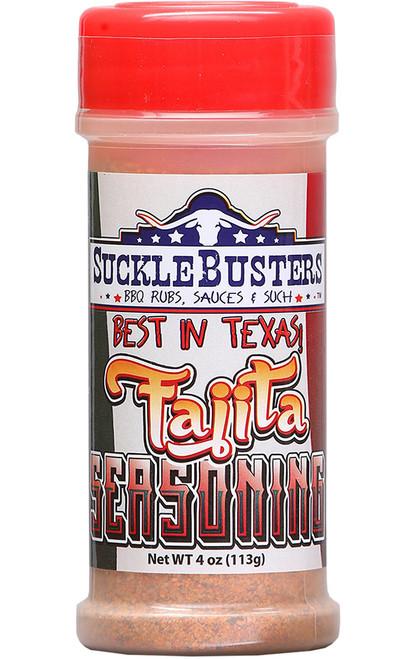 SuckleBusters Best In Texas Fajita Seasoning, 4oz.