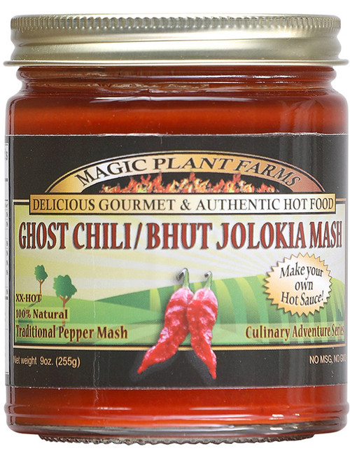Magic Plant Farms Ghost Pepper Mash Puree, 9oz.