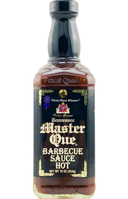 Tennessee Master Que Barbecue Sauce Hot, 16oz.