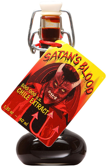 Satan's Blood Chile Extract, 1.35oz.