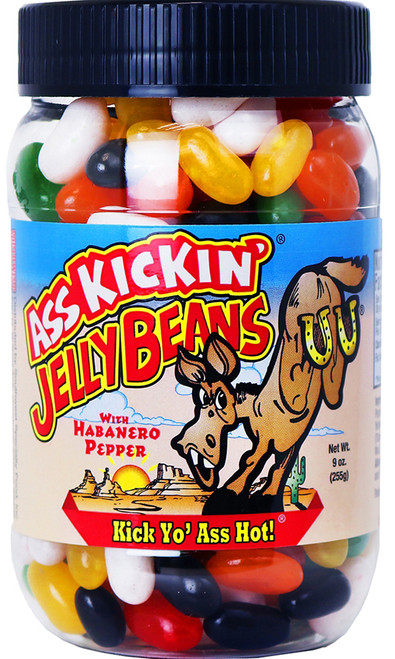 Ass Kickin Jelly Beans with Habanero Pepper, 9oz.