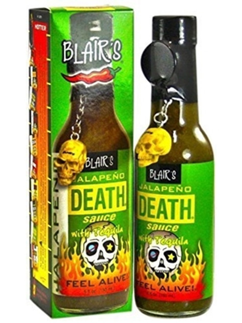 Blair's Jalapeno Death Sauce with Tequila, 5oz.