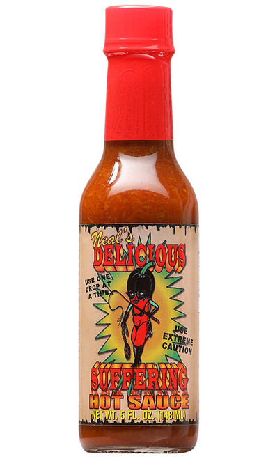 Delicious Suffering Hot Sauce, 5oz.