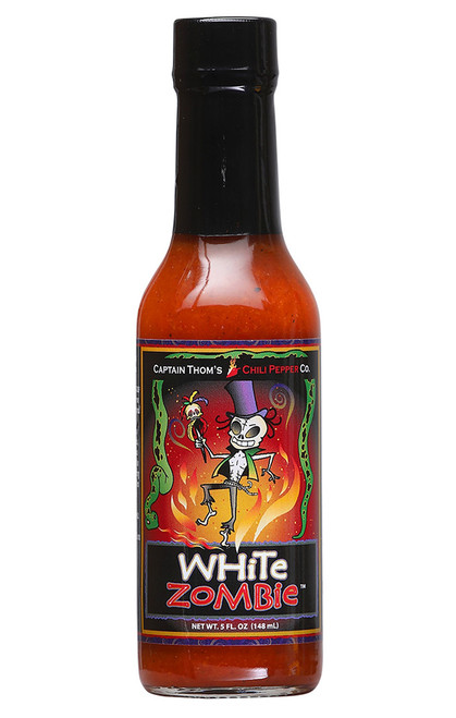White Zombie Hot Sauce, 5oz.
