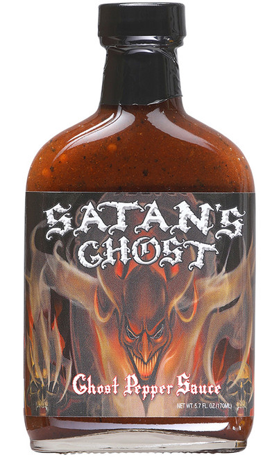 Satan's Ghost Pepper Sauce, 5.7oz.