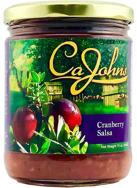 CaJohn's Gourmet Cranberry Salsa, 16oz.