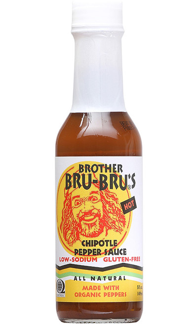 Brother Bru-Bru's African Chipotle Pepper Sauce, 5oz.