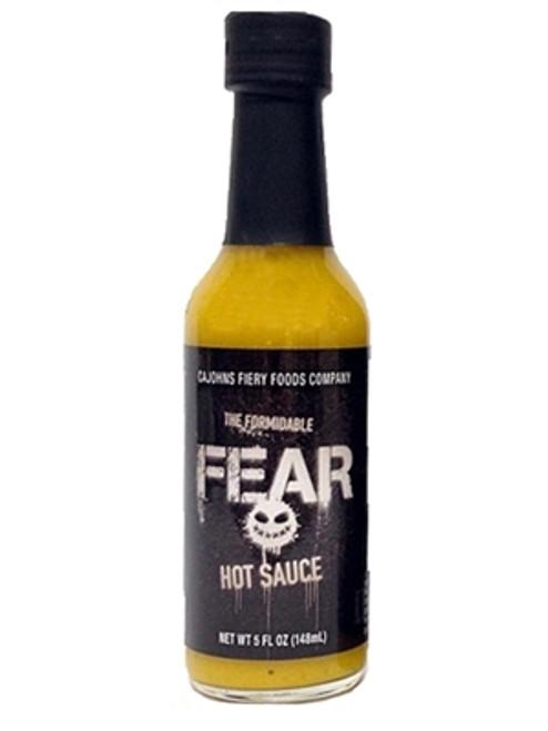 CaJohn's The Formidable Fear Hot Sauce, 5oz.