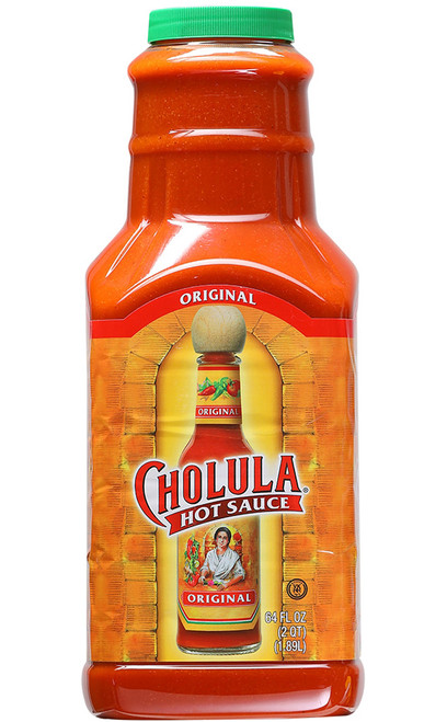 Cholula Original Hot Sauce 1/2 Gallon, 64oz.