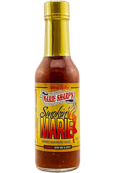 Marie Sharp's Smokin' Marie Pepper Sauce, 5oz.