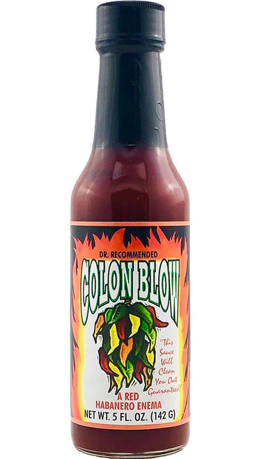 Colon Blow Red Habanero Enima, 5oz.