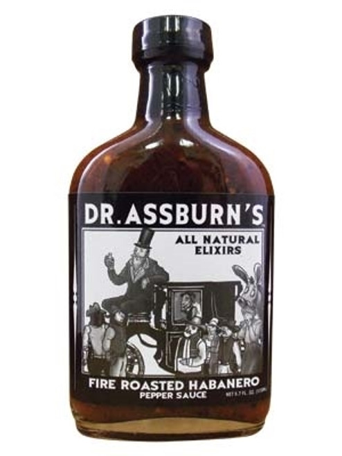 Dr. Assburn's Fire Roasted Habanero Pepper Sauce, 5.7oz.