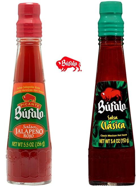 Bufalo Mexican Hot Sauce Set