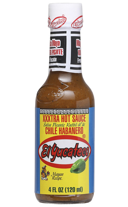 El Yucateco XXXtra Hot Chile Habanero, 4oz.