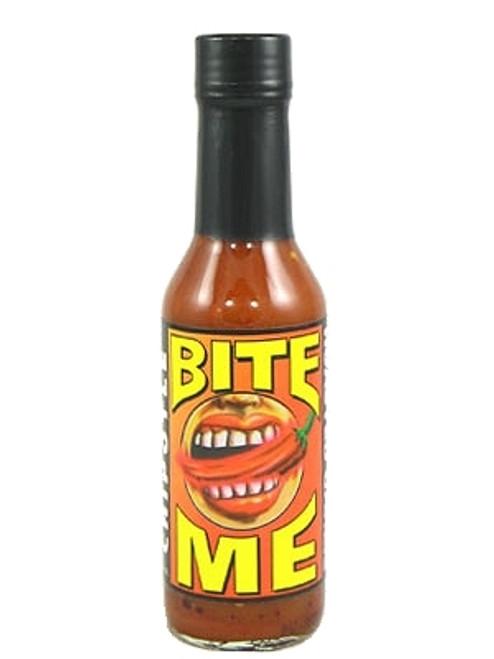 Bite Me Chipotle Garlic Hot Sauce, 5oz.