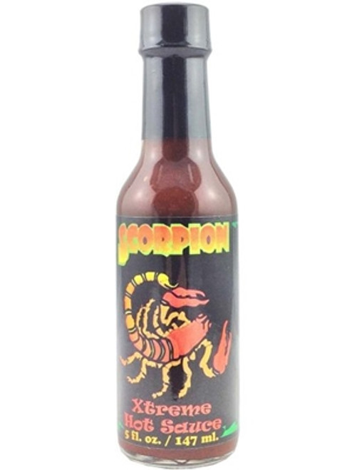 Scorpion Extreme Hot Sauce (Original), 5oz.