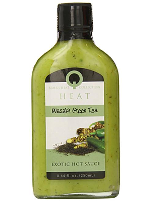 Blair's Q Heat Wasabi Green Tea Exotic Hot Sauce, 8.44oz.