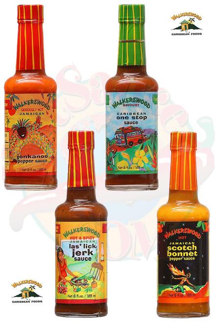 WalkersWood Sauces Gift Set, 4/6oz.