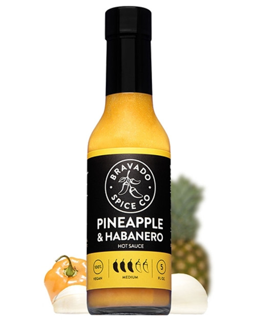 Bravado Spice Co. Pineapple & Habanero Hot Sauce, 5oz.