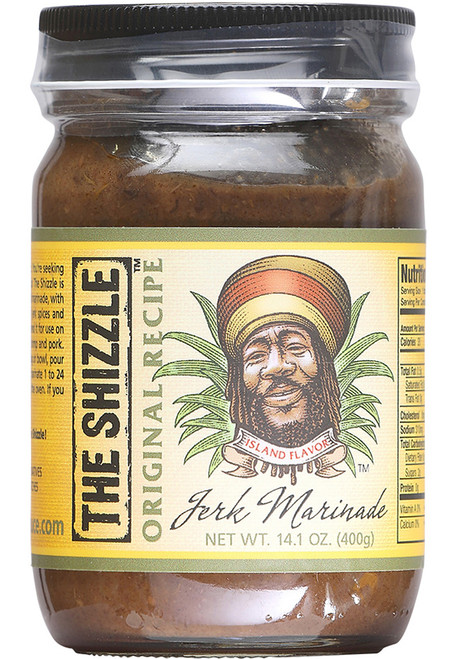 The Shizzle Original Recipe Jerk Marinade, 14oz.