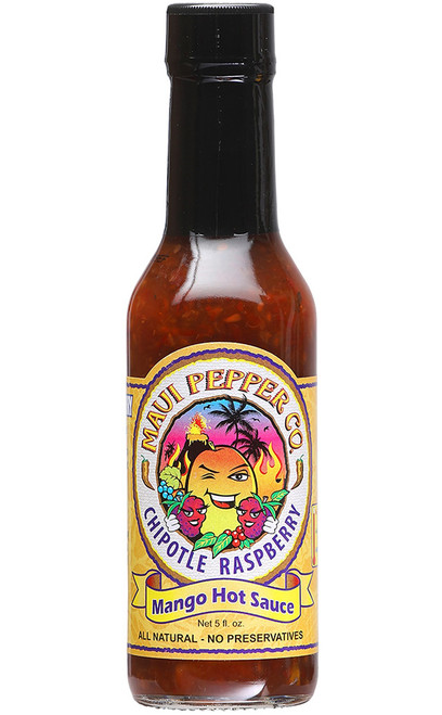 Tahiti Joe's Maui Pepper Chipotle Raspberry Mango Hot Sauce, 5oz.