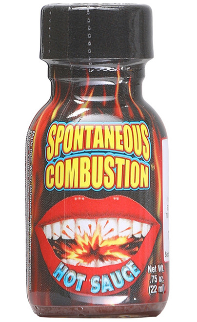 Mini Spontaneous Combustion Hot Sauce, .75oz.