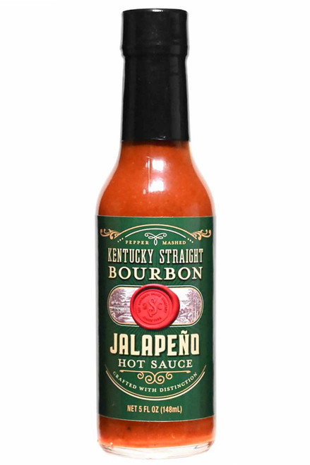 Kentucky Straight Bourbon Jalapeno Hot Sauce, 5oz.