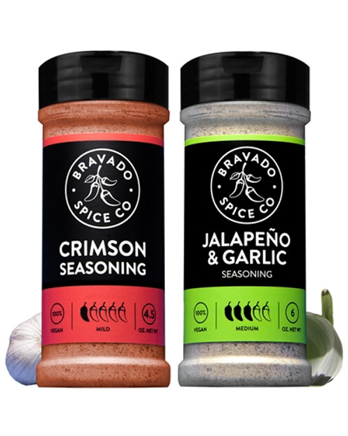 Bravado Spice Co. Seasoning Set, 1/3oz., 1/2.7oz.