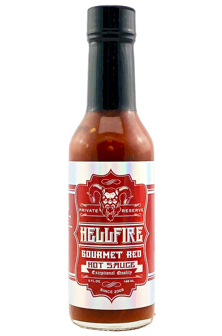 Hellfire Gourmet Red Hot Sauce, 5oz.