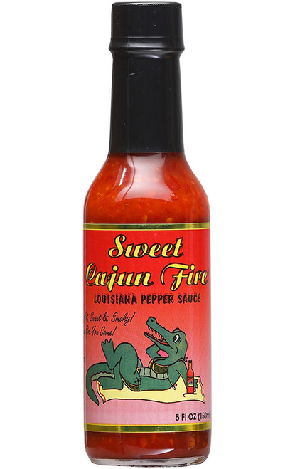 Sweet Cajun Fire Hot Sauce, 5oz.