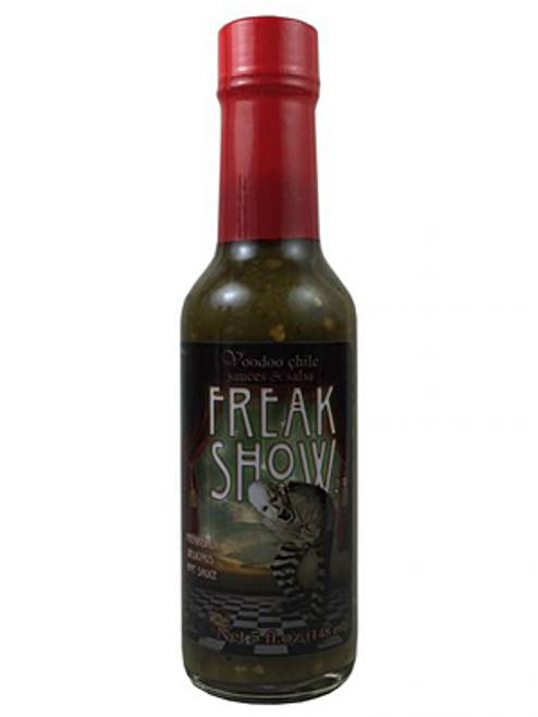 Voodoo Chile Freak Show Hot Sauce, 5oz.