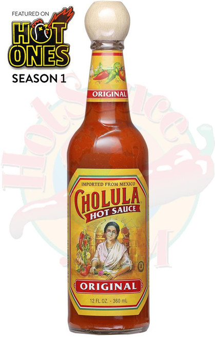 Cholula Original Hot Sauce with Wooden Topper, 12oz.