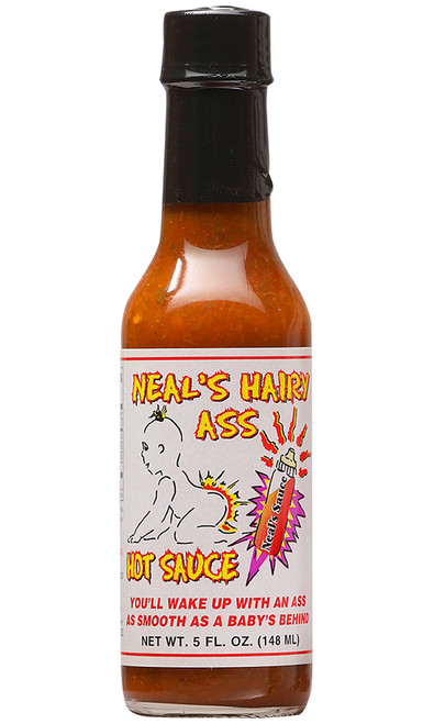 Neal's Hairy Ass Hot Sauce, 5oz.