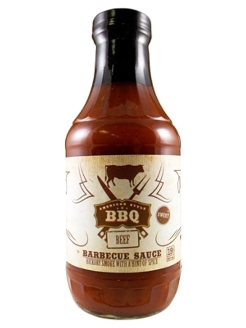 American Style BBQ Beef Barbecue Sauce, 19oz.