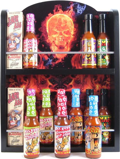 Ass Kickin Ultimate Hot Sauce Collector's Rack, 14/5oz. (Sold Out)