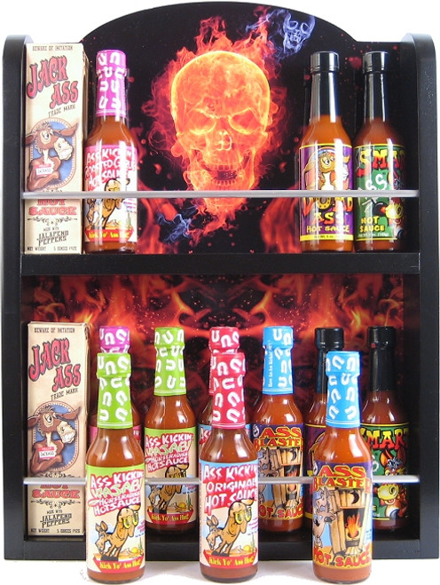 Ass Kickin Ultimate Hot Sauce Collector's Rack, 14/5oz. (Sold Out)
