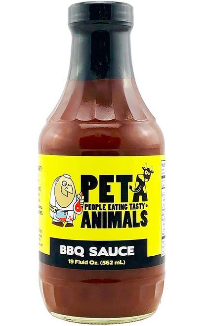 PETA BBQ Sauce, 19oz.