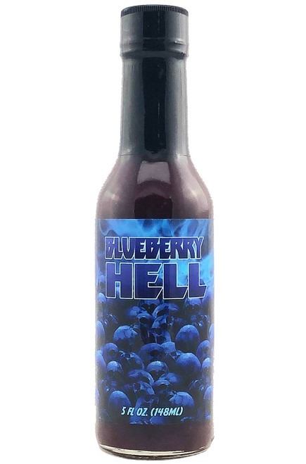 Hellfire Blueberry Hell Hot Sauce, 5oz.