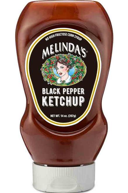 Melinda's Black Pepper Ketchup, 14oz.
