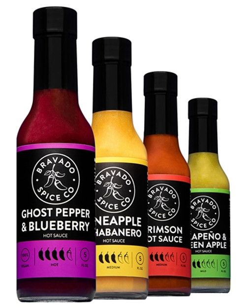 Bravado Spice Co. Hot Sauces 4 Pack, 4/5oz.