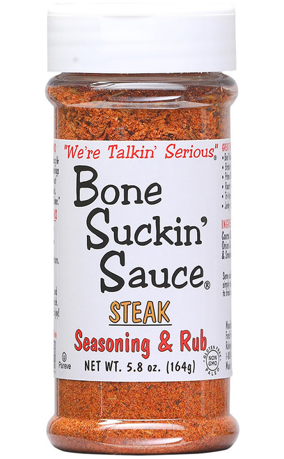 Bone Suckin Steak Seasoning & Rub, 5.8oz.