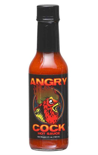 Angry Cock Hot Sauce, 5oz.