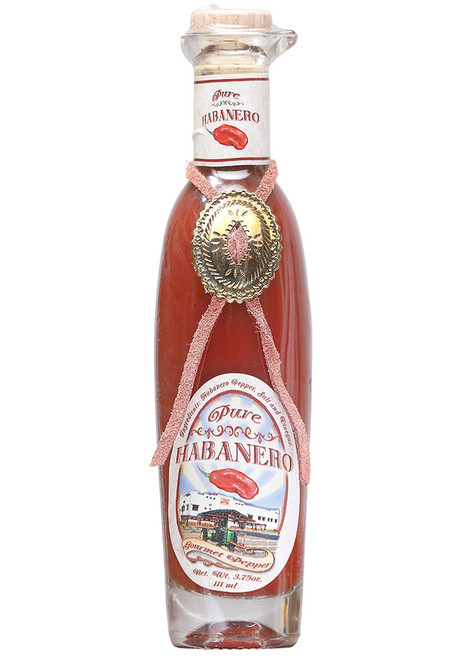 Pure Habanero Red Savina Hot Sauce, 4oz.