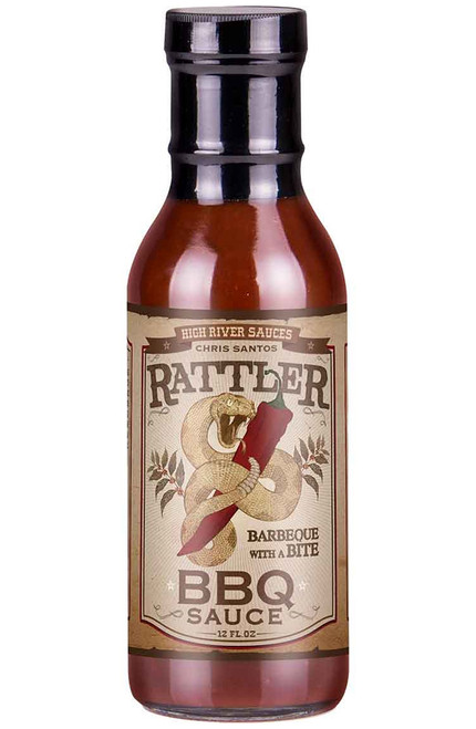 High River Sauces Rattler BBQ Sauce, 12oz.