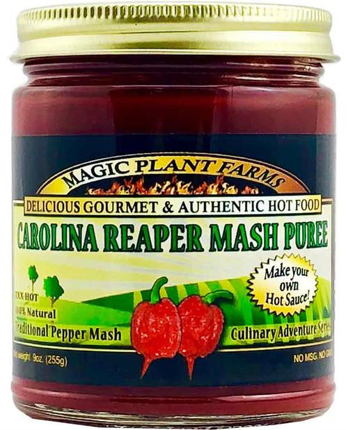 Magic Plant Farms Carolina Reaper Mash Puree, 9oz.