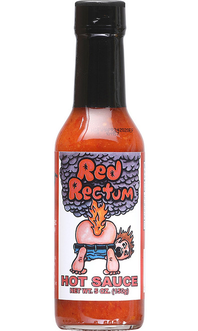 Red Rectum Hot Sauce, 5oz.