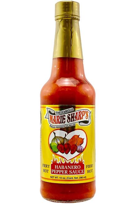 Marie Sharp's Fiery Hot Habanero Hot Sauce, 10oz.