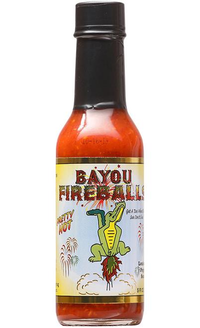 Bayou Fireballs Hot Sauce, 5oz.